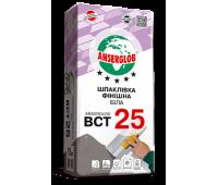 Шпаклевка финишная белая ANSERGLOB BCT 25 15кг