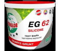 Грунт - краска (адгезионная эмульсия) ANSERGLOB EG 62 SILICONE, 10л / 15кг