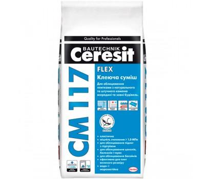 CERESIT CM-117 Клеюча суміш, мішок 5 кг