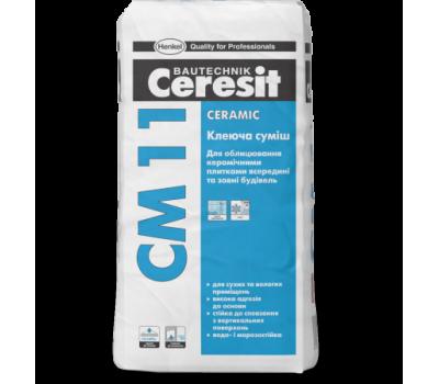 CERESIT СМ-11 Клей для керамічної плитки Ceramic, мішок 25 кг