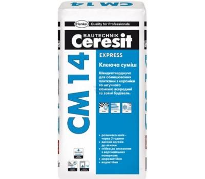 CERESIT CM-14 Клей швидкотвердіючий, 25 кг