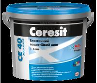 CERESIT CE-40 (бежевий-багама) ластичний водостійкій Кольорове шовдо 5мм, 2кг