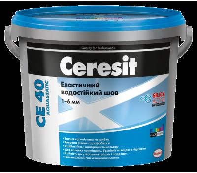CERESIT CE-40/79 (світло-блакитний) еластичний водостійкій Кольорове шовдо 5мм, 2кг