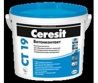 CERESIT CT-19 Грунтовка адгезионная Бетонконтакт 7,5кг