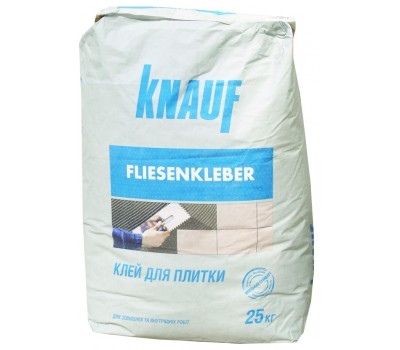 KNAUF Клей для плитки ФЛИЗЕНКЛЕБЕР, мішок 25 кг