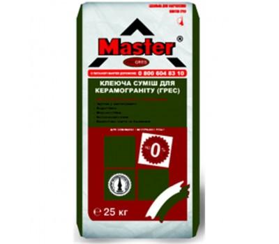 MASTER PROGRES Клей для приклеювання плит з керамограніту, 25кг