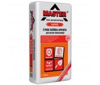 MASTER  SUPER Еластичний універсальний клей для влаштування систем теплоізоляції, 25кг