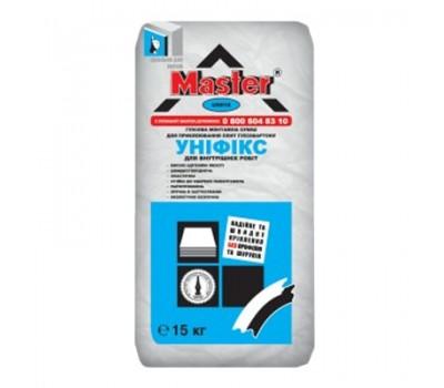 MASTER UNIFIX Клей для гипсокартона и откосов, 15 кг