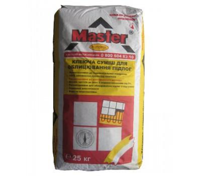 MASTER  PLITOPOL Клей для облицювання підлоги, 25кг