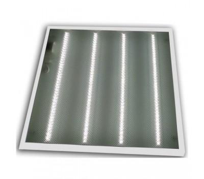 Светильник LED Lumen 4x10W 600x600 призматик 6500K