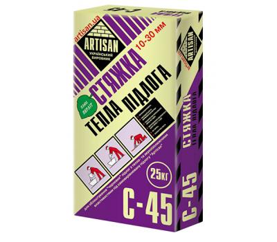АРТІСАН С-45 /20кг тепла підлога 10-30 мм