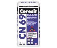 CERESIT СN-69 Самовирівнююча суміш (товщина шару від 3 до 15 мм.), Мішок 25 кг