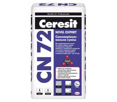 CERESIT СN-72 Самовирівнююча суміш (товщина шару від 2 до 10 мм), мішок 25 кг