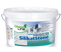 GREEN LINE Декор штукатурка на силікат базі «DecorSilicat» камінцева (1,0-2,0мм)25кг