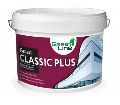 GREEN LINE Фасадна краска Fasad Classic Plus 10л