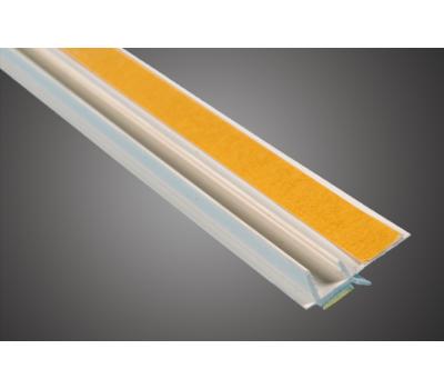 Профиль оконный примыкающий 6мм 2,4м  (м.п.) (60шт)
