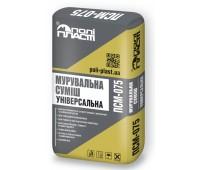 ПОЛІПЛАСТ ПСМ-075 Кладочна суміш універсальна 25кг