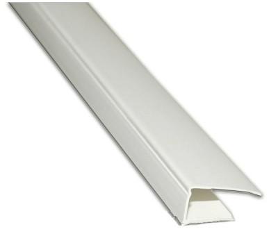 Профіль торцевий  для  ГКЛ, пластиковий 12,5мм, 3м