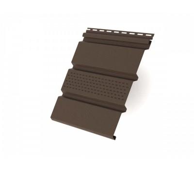 Панель, частично перфорированная 3000х305 мм (0,915 м2) коричневая