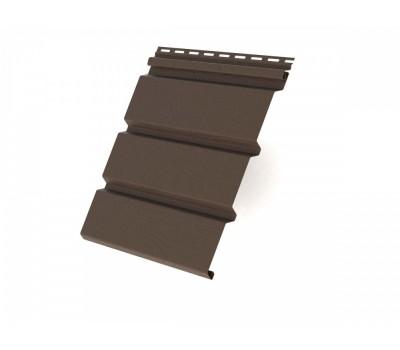 Панель сплошная 3000х305 мм (0,915 м2) коричневая