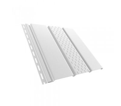 Панель, частично перфорированная 1,22 кв.м (4х0,31) белая