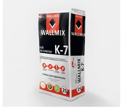 Wallmix K7 Клей для плитки для внутренних и наружных работ с  с повышенной адгезией