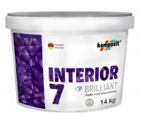 Краска интерьерная латексная INTERIOR 7 (1,4 кг)