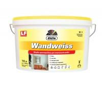 DUFA Фарба дисперсійна Wandweiss (D 1), 10 літрів