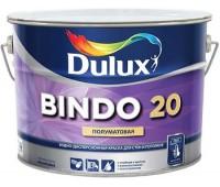 Sadolin Полуматовая краска с высокой стойкостью к мытью BINDO 20 белая 10л