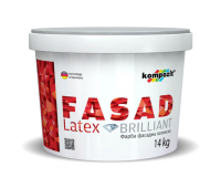 Краска фасадная FACADE LATEX (1,4 кг)