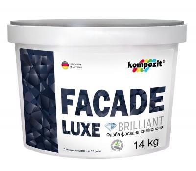 Краска фасадная силиконовая FACADE LUXE База-С (14 кг)