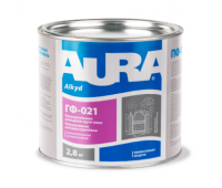 ГРУНТ антикорозійної ГФ-021 Сірий (Відро 2,8 кг)