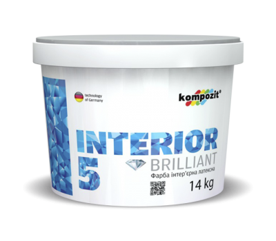 Краска интерьерная INTERIOR 5 (1,4 кг)