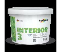 Краска интерьерная INTERIOR 3 (1,4 кг)