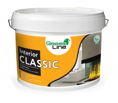 GREEN LINE Інтер'ерная акрилова фарба Interior Classik 10л