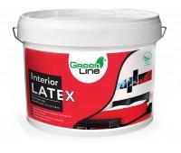 GREEN LINE Інтер'ерная латексна матова  фарба  Interior Latex 10 л