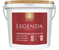 Kolorit Legenda Краска латексная для внутренних работ 0,9л (A) Глубоко матовая