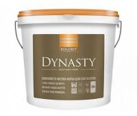 "Kolorit Dynasty Краска латексная интерьерная база ""А""-белая 9л"