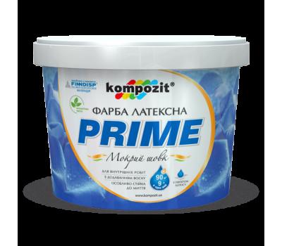 Краска интерьерная латексная 'PRIME' (2,7 л)