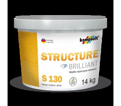 Краска структурная S 130 (7 кг)