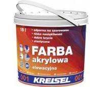 Kreisel 001 Фарба акрилова фасадна д/покриття мін.штукат. 15л База B