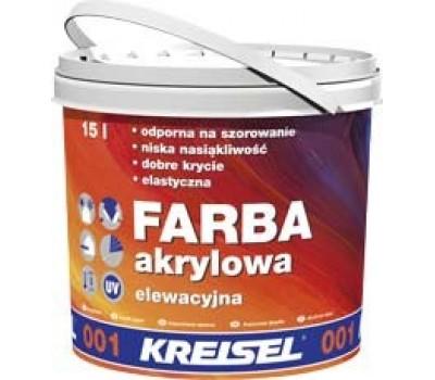 Kreisel 001 Фарба акрилова фасадна д/покриття мін.штукат. 15л База А