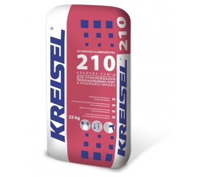 Купить Kreisel 210 Клейова суміш д/кріплення ППС 25кг в Киеве оптом и в розницу | Стройматериалы Буд-Тех