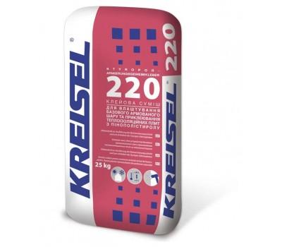 Kreisel 220 Клейова суміш армуюча для ППС 25кг