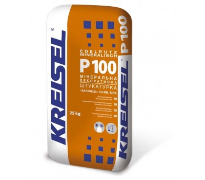 "Kreisel Р100 1,5мм Штукатурка мінерал.  декоративна ""Барашек"" 25кг (42)"