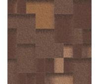 Битумная черепица Aquaizol Акцент Горячий Шоколад