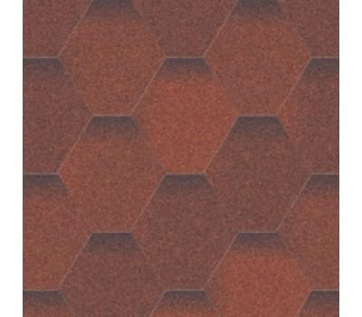 Битумная черепица Aquaizol Мозаика Огненная лава
