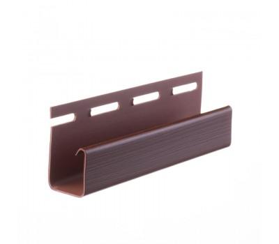 J - профиль 3,05м шоколад, гранат
