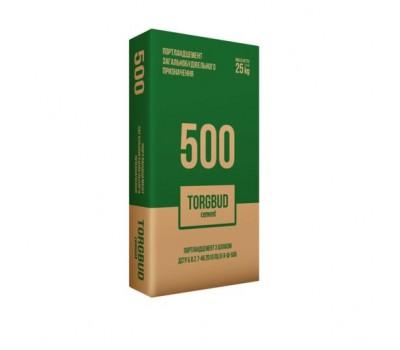Цемент М-500/ ПЦ I-500Р/ 25кг TORGBUD Polimin