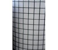 Сетка сварная метал. Черная 25*25 Ф0,8мм 1х30м
